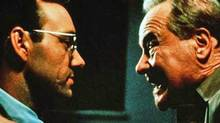 Kevin Spacey and Jack Lemmon in a scene from Glengarry Glen Ross.