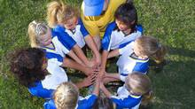 Author Paul Levy makes the case for teamwork in Goal Play! (Brand X Pictures/Getty Images/Brand X)