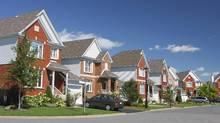 Suburban Neighborhood/Modern middle-class neighborhood in Canada. (Tony Tremblay/iStockphoto)
