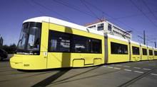 A Bombardier Flexity Berlin tram. (Joachim Donath/BVG)