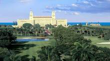 For many visitors, the Palm Beach experience isn't complete without a round of golf on the Ocean Course at The Breakers, the towering Italian Renaissance-inspired luxury hotel. (Associated Press)