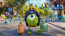 Mike, voiced by Billy Crystal, goes to college in Monsters University. (Pixar/AP)
