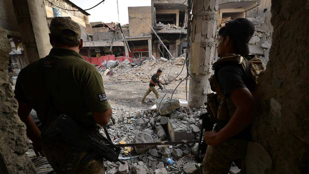 Thumbnail for Civilians in Mosul 'traumatized' by conflict, city's infrastructure badly damaged