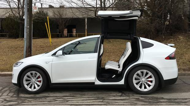 tesla model x world s first electric suv is a shock to the system the globe and mail. Black Bedroom Furniture Sets. Home Design Ideas
