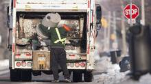 In garbage collection, competition is rarely wasted (Geoff Robins for The Globe and Mail)
