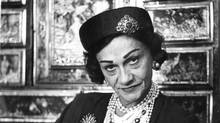 Coco Chanel file photo published Aug. 9, 1958