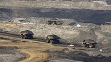 An oil sands mining operation at the Muskeg River Mine is shown in July of 2008. (Larry MacDougal)