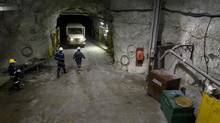 Workers at a uranium mine are seen in this file photo. Is fraking for uranium viable? (© STRINGER Canada / Reuters/REUTERS)