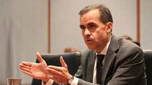 Bank of Canada Governor Mark Carney. (Peter Power/Peter Power/The Globe and Mail)