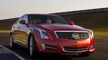2013 Cadillac ATS (Richard Prince/Richard Prince/rprincephoto.com)
