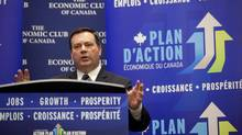 The Honourable Jason Kenney, Minister of Employment and Social Development and Minister for Multiculturalism met his provincial and territorial counterparts in a meeting at a Toronto hotel on Nov. 8, 2013, to discuss the Canada Job Grant. The sides remain at odds over diverting existing government funding to the planned program. (Deborah Baic/The Globe and Mail)
