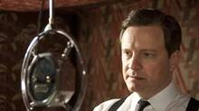 Colin Firth as King George VI in The King's Speech. (Alliance Films)