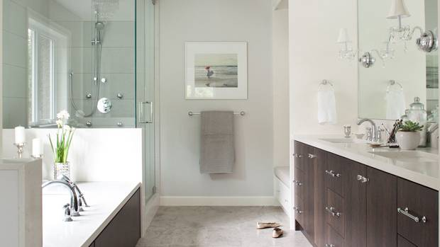 Bathroom Design Straight Thinking For A Narrow Room The Globe And Mail