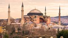 Hagia Sophia in Sultanahmet district, Istanbul. Turkey. (Luciano Mortula/Getty Images/iStockphoto)
