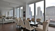 The 12-foot high ceilings in Suite 2402 gave interior designer Ernst Hupel of Ottawa-based 2H Design a lot to work with when planning the space. The only other floor in the building that provides such a ceiling height is the penthouse floor.