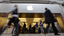 A report by Capital Economics says Apple's recent announcement of a $10-billion might spur other U.S. companies to part with some cash. (MARK BLINCH/REUTERS)