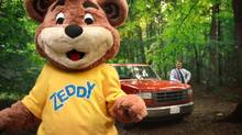 Zellers' social media campaign featuring its teddy bear mascot, Zeddy, helped rake in $8-million in sales. (John St.)