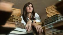 Cathy Waters joined her passion for books with her interest in IT to co-found the former Abebooks used-book database, later acquired by Amazon. (ARNOLD LIM/THE GLOBE AND MAIL)