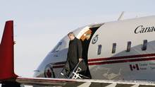 The Harper government's plan to decommission four of its six C-144 Challengers was sidelined and revisited last year because the executive jets were getting more VIP and military use than thought. (Todd Korol/Reuters)