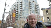 Ryan Henderson recently remortgaged the downtown Toronto condo he and his wife, Gia Ghassemi, rent out. (Kevin Van Paassen for The Globe and Mail)