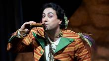 Rodion Pogossov as Papageno in the Canadian Opera Company production of The Magic Flute, 2011. (MICHAEL COOPER/WWW.COOPERSHOOTS.COM)