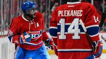 Reports out of Montreal suggest P.K. Subban's teammates are sick and tired of their team's leading scorer and most popular, best-paid player. (Minas Panagiotakis/Getty Images)