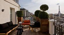Hotel Marignan Paris is in the heart of French capital's fashion district.