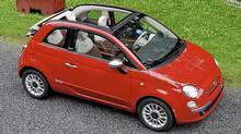 2012 Fiat 500c Cabriolet. (Michael Bettencourt for The Globe and Mail)