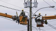 Rising interest rates have pummelled shares of Fortis Inc., but the utility operator has projects on the go and dividend should keep rising. (Marcel Pelletier/iStockphoto)