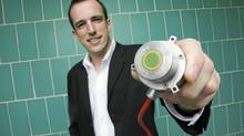 Adam Harris of C-Therm Technologies in New Brunswick is just back from a two-week trade mission to Brazil, where he landed several solid sales prospects for his firm's instruments, which measure thermal conductivity. (James West for The Globe and Mail)