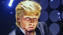 Johnny Depp as Donald Trump.