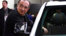 Sergio Marchionne, CEO of Chrylser, says the plan to invest several billions is the largest single investment made by an any auto maker in Canada in more than five years and the biggest for the combined Fiat-Chrysler group since Fiat SpA took control of the no. 3 Detroit auto maker in 2009. (Fabrizio Costantini/The New York Times)