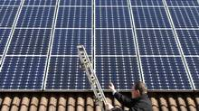 Solar leasing, which allows homeowners to avoid the hefty upfront cost of a solar system by paying a monthly fee for their panels, has helped accelerate the residential market. (MICHAELA REHLE/REUTERS)