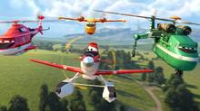 The sequel, Planes: Fire & Rescue, hits theatres Friday, July 18, 2014. (Disney)