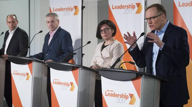 Why the NDP leadership presents a daunting choice