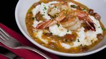 Shrimp and cheddar grits (Deborah Baic/The Globe and Mail)