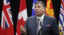 Ontario's Minister of Finance Charles Sousa addresses the media. The Province of Ontario expects to spend $11.3-billion on interest payments – more than the entire $11.1-billion budget for the Ministry of Community and Social Services. (BLAIR GABLE/REUTERS)
