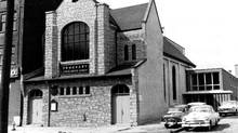 The Toronto Chinese United Church was a presence on Chestnut Street between 1955 and 1988 when it was sold and later demolished. (Mary-Esther Lee)