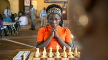 Madina Nalwanga is Phiona Mutesi in Disney's Queen of Katwe, the vibrant true story of a young girl from the streets of rural Uganda whose world rapidly changes when she is introduced to the game of chess. (Edward Echwalu)