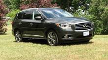 2013 Infiniti JX (Bob English for The Globe and Mail)
