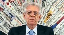 Italian Premier Mario Monti pauses as he speaks at Rome's Foreign Press Club, Monday, Dec. 5, 2011. (AP Photo/Pier Paolo Cito/AP Photo/Pier Paolo Cito)