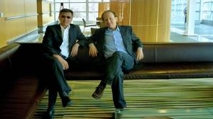 Idris Mootee, CEO, left, and on the right is Scott Friedmann, executive vice-president, innovation and service design