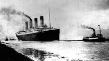 The Titanic departs Southampton, England, on April 10, 1912, prior to her maiden (and only) Atlantic voyage to New York City. (AP)