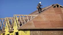 New home construction in Richmond Hill, Ont. (Moe Doiron/Moe Doiron/The Globe and Mail)