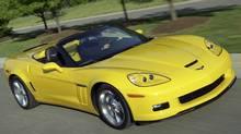 2011 Chevrolet Corvette Grand Sport. (GM/General Motors)