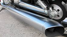 """In a report conducted by the U.S.-based Office of Legislative Research, the analysts noted : """"Despite the EPA requirements, an online search shows that there continue to be complaints about excessive motorcycle noise, typically caused by motorcyclists modifying or bypassing the vehicle's original exhaust system or replacing it with a louder after-market system."""" (Harley-Davidson/Harley-Davidson)"""