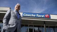 Alain Bouchard, founder and executive chairman of the board, of Alimentation Couche-Tard, poses outside a store in Laval, Quebec September 30, 2016. (For The Globe and Mail/Christinne Muschi)