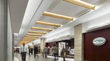 A section of the interior renewal of First Canadian Place in Toronto by B+H Architects. (B+H Architects website)