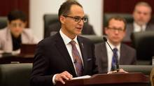 The 15 highest-paid civil servants in Alberta work for the arm's-length agencies, known collectively as the ABCs, and were not required to disclose their salaries publicly until new rules came into effect in June. Even Finance Minister Joe Ceci's office did not know how much executives at the agencies were paid. (TOPHER SEGUIN/THE CANADIAN PRESS)