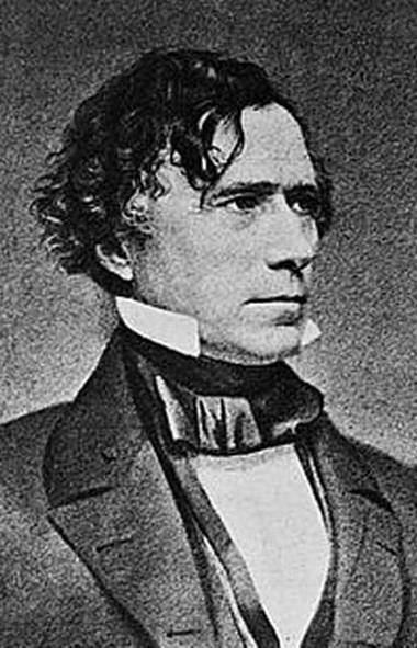 U.S. president Franklin Pierce.